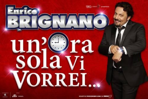"""Enrico Brignano ad Ancona con lo spettacolo """"Un'ora sola vi vorrei"""""""