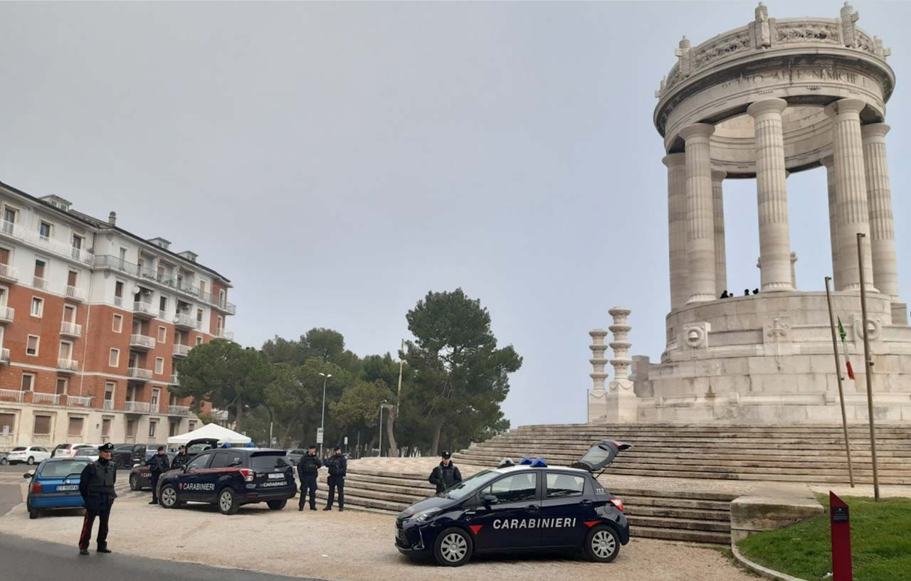 Carabinieri, Ancona