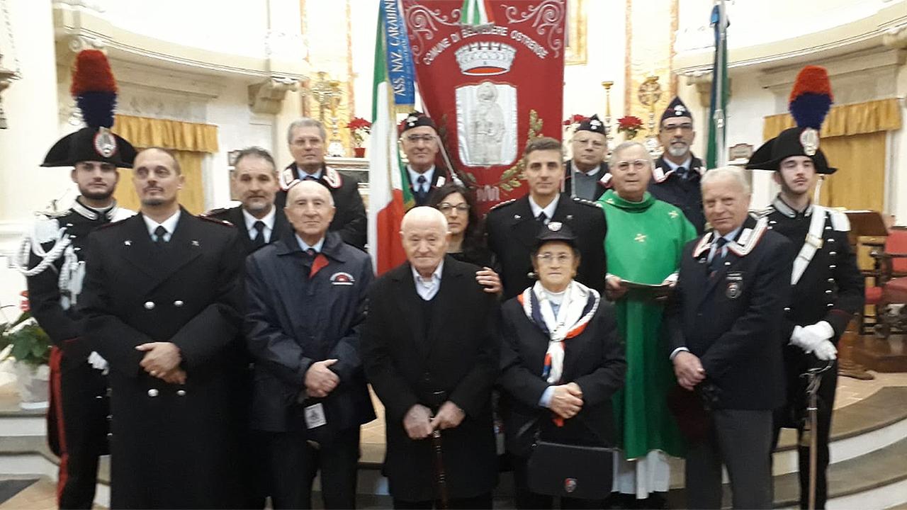 La cerimonia a Belvedere Ostrense in ricordo del carabiniere Euro Tarsilli