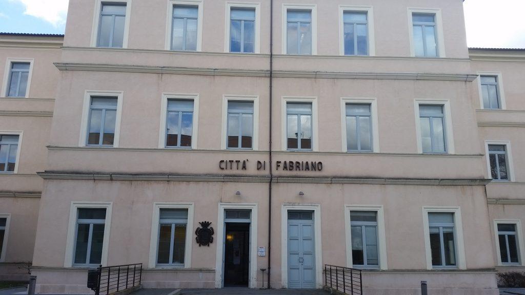 La sede del Comune di Fabriano