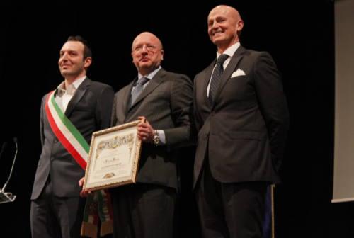 Boccia (Confindustria) cittadino onorario di Treia: «Persone al centro della società e imprese al centro dell'economia»