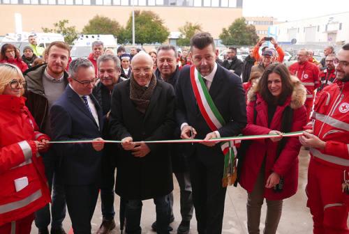 Inaugurata la nuova sede della Croce Rossa di Senigallia (FOTO)