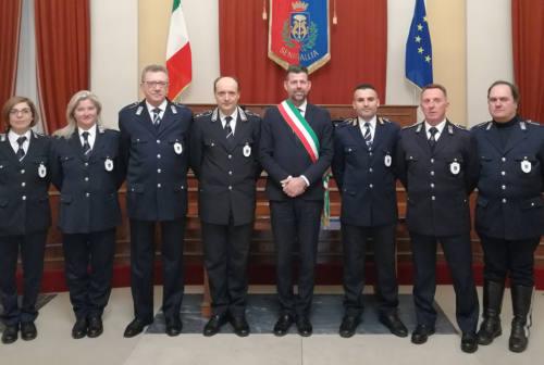 Polizia locale, encomi per gli agenti di Senigallia e Arcevia