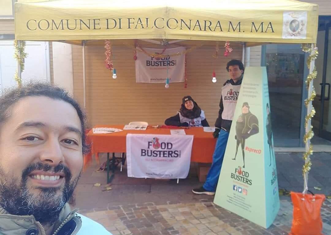 I volontari dell'associazione Foodbusters