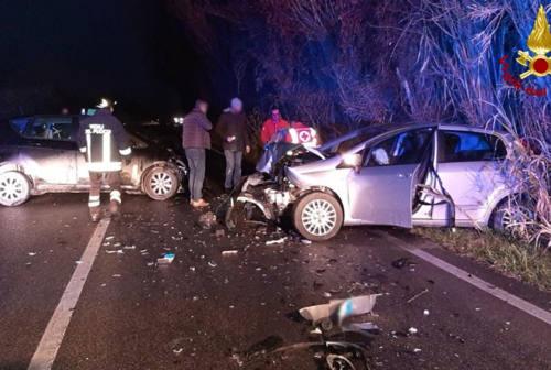 Incidente a Borgo Catena, tre feriti portati all'ospedale di Senigallia e Torrette
