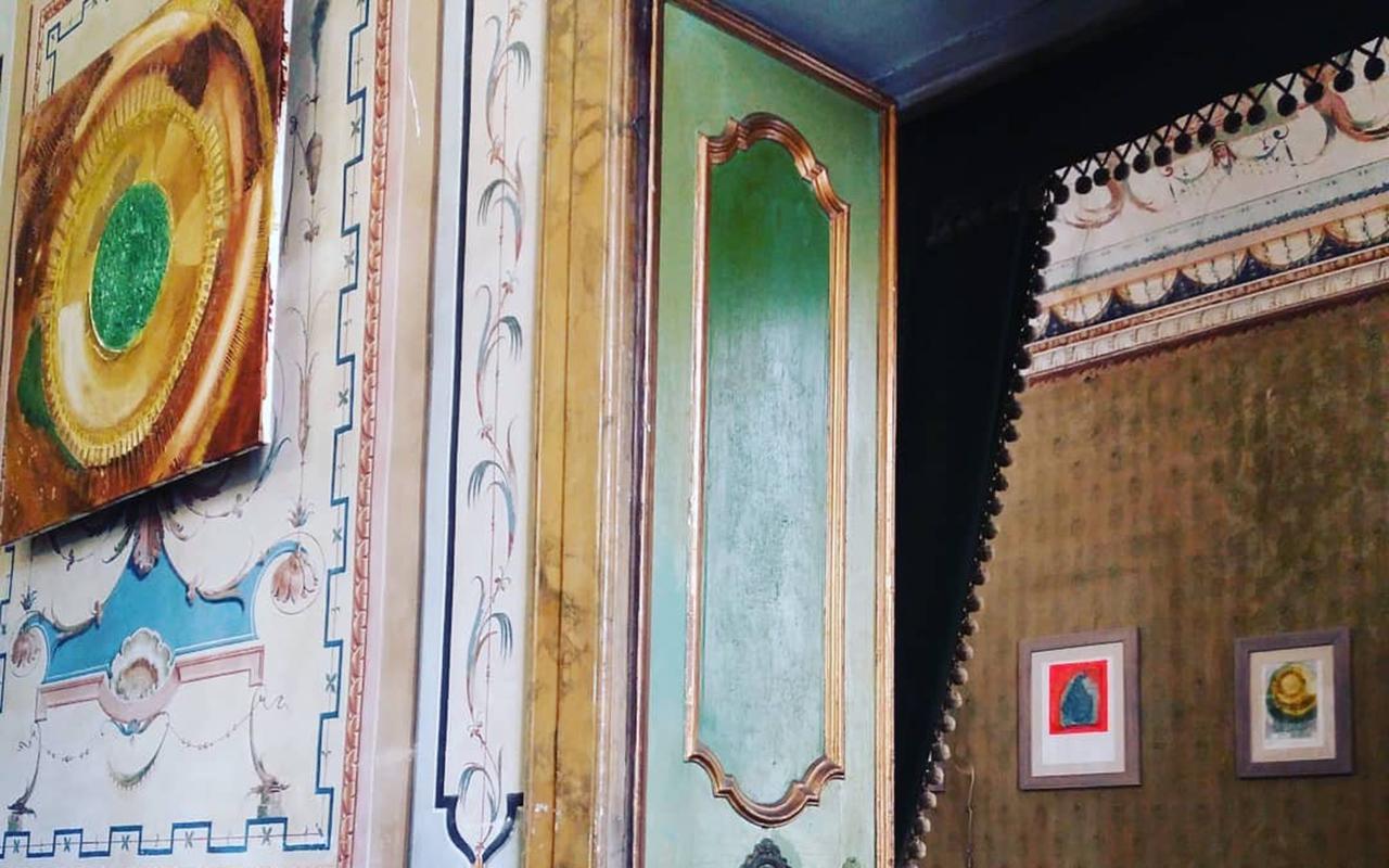 A palazzo Tofani Natale Marzi di Filottrano la mostra di pittura di Michele Gambini