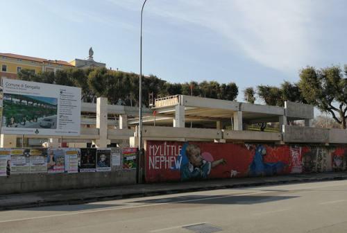 Via Cellini, proseguono i lavori al parcheggio multipiano