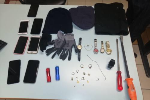 Dal Maceratese all'Ascolano, a segno vari furti in appartamenti. Quattro arrestati