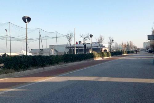 Senigallia, lungomare Italia: la pista ciclabile si avvicina