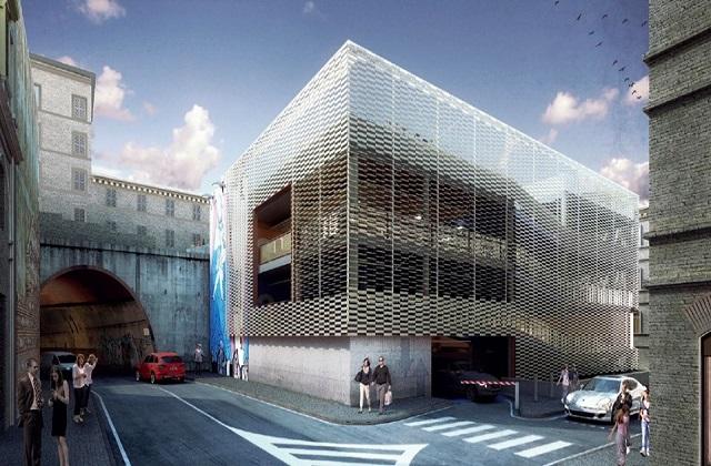 Ancona, progetto parcheggio