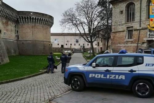 Senigallia, lite alla Rocca Roveresca
