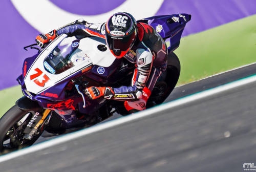 Motociclismo, Simone Saltarelli si prepara per il National Trophy superbike