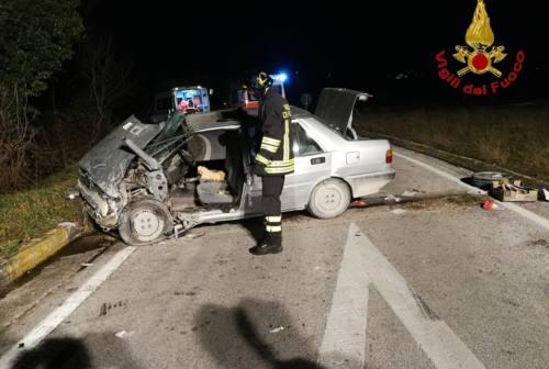 Tragico schianto a Pollenza: donna muore in ospedale