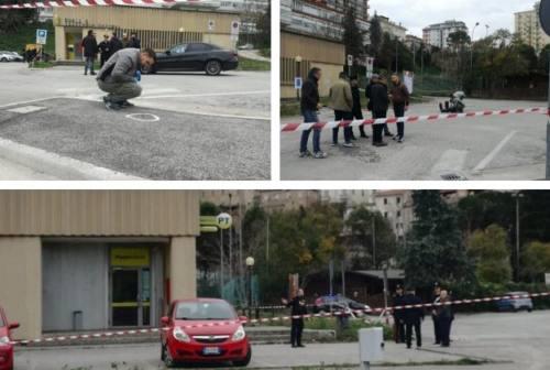 Rapina Sant'Elpidio a Mare: esploso estintore in auto per eliminare le tracce. 126mila euro il bottino