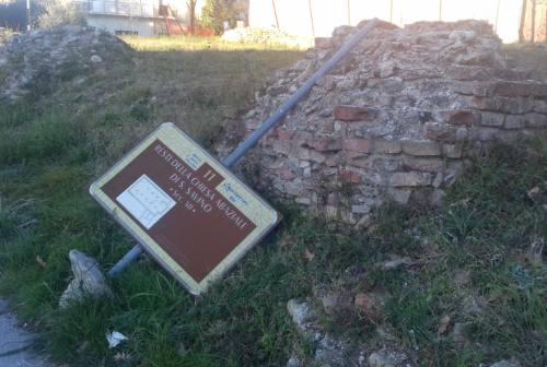 Jesi, il malinconico abbandono dell'abbazia di San Savino