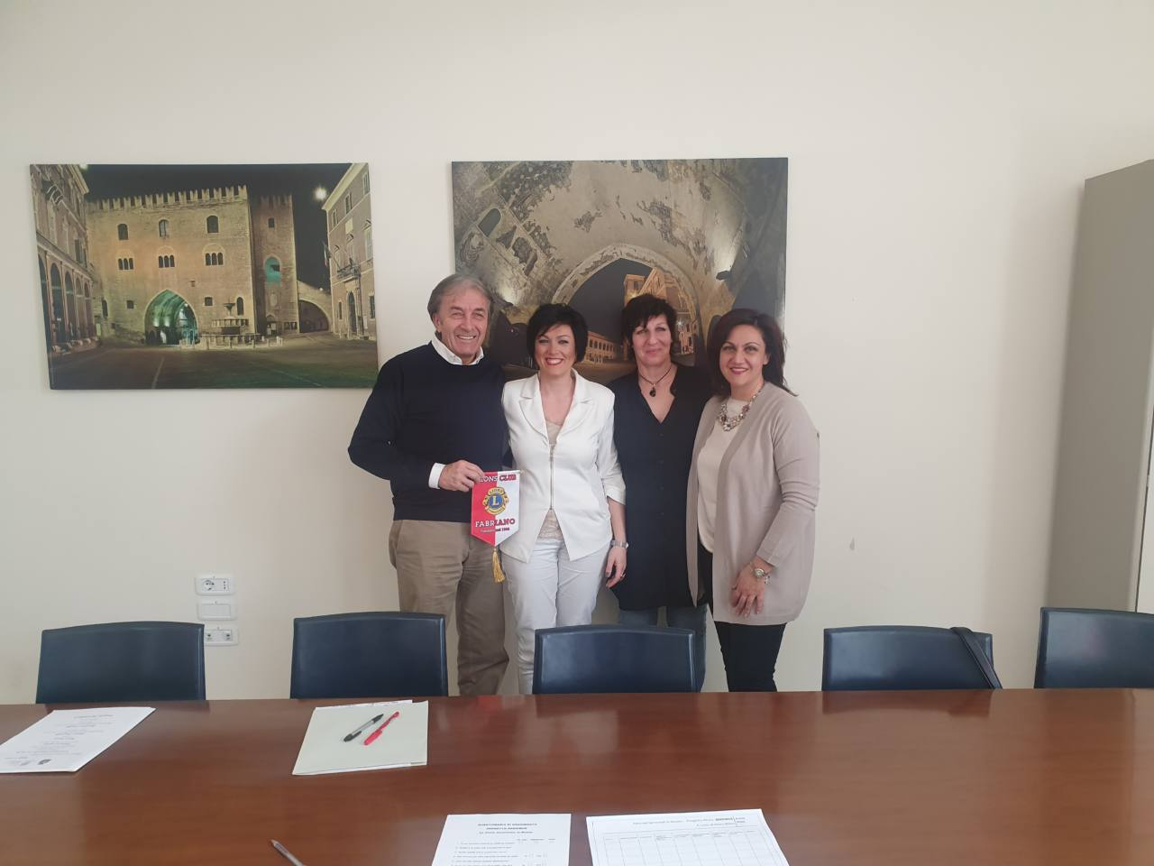 Alaimo Angelelli, Mara Brera, Simona Lupini e Roberta Cristalli foto