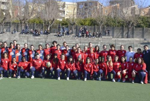 Calcio femminile, l'Ancona Respect prepara il derby con la Stella d'Oro