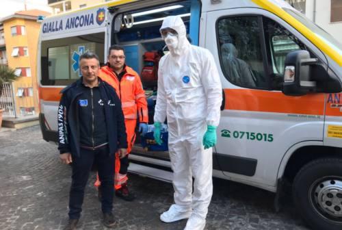 Coronavirus, ecco come si proteggono i volontari Anpas