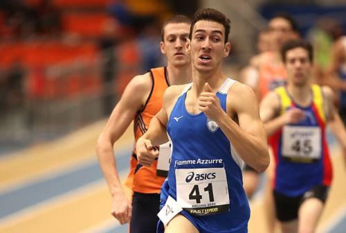 Atletica, Simone Barontini è ancora il signore degli 800mt