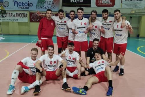 La Bontempi Ancona si prende il derby con la Nef Volley Osimo