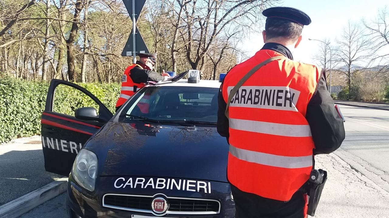I controlli dei Carabinieri a Fabriano