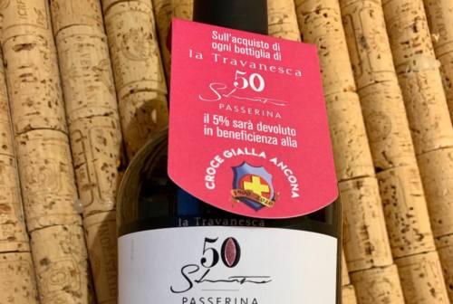Un vino dedicato alla Croce Gialla di Ancona per i 120 anni dalla fondazione