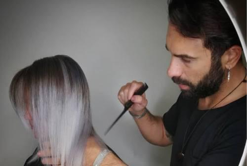Castelfidardo, l'hair styilist Damiano Brandoni alla Fashion week di Milano