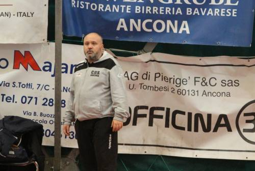 Mister Battistini: «Cus Ancona, ora non sbagliamo più»