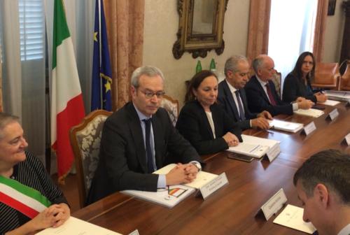 Comitato per l'Ordine e la Sicurezza in Prefettura, presenti il ministro dell'Interno Lamorgese e il capo della polizia Gabrielli