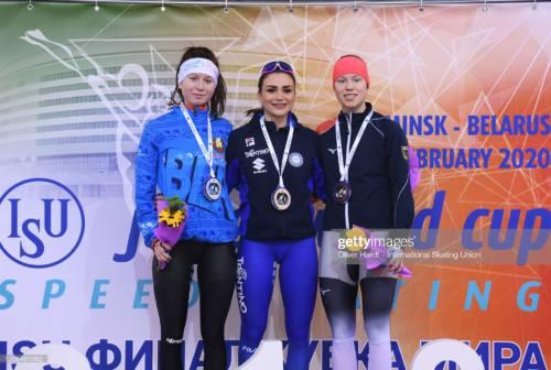 Linda Rossi regina in Bielorussia con 4 ori e un argento