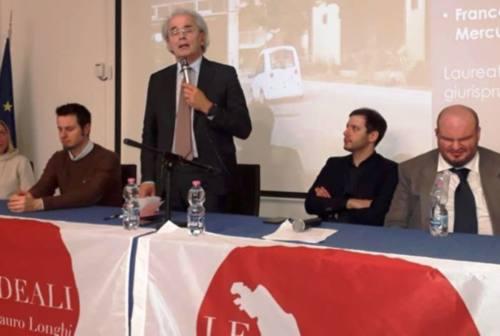 Marche, elezioni regionali: Longhi a Osimo. Il monito dei giovani: «Fateci lavorare»