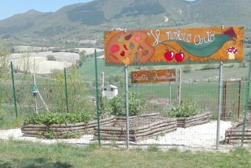 L'orto botanico di Fabriano ha anche il suo murales