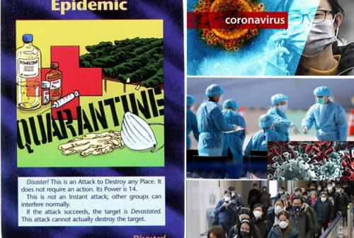 """Coronavirus: un'epidemia prevista dal gioco degli """"Illuminati""""?"""