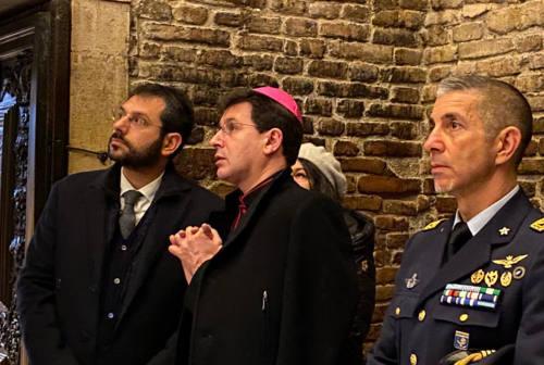 Loreto, il sottosegretario Tofalo in visita per il Giubileo