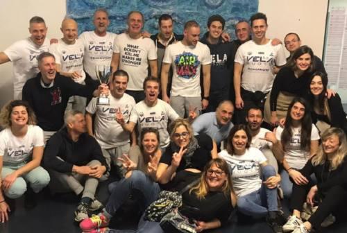 La Vela Nuoto Ancona brinda al titolo regionale master