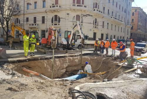 Ancona senza acqua: di nuovo disponibile in tarda serata