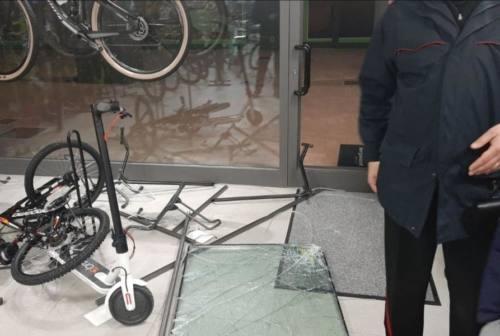 Raid di biciclette a Corinaldo: furto da 70 mila euro