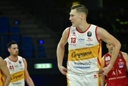 Basket, la Carpegna Prosciutto ritrova Chapman per domenica