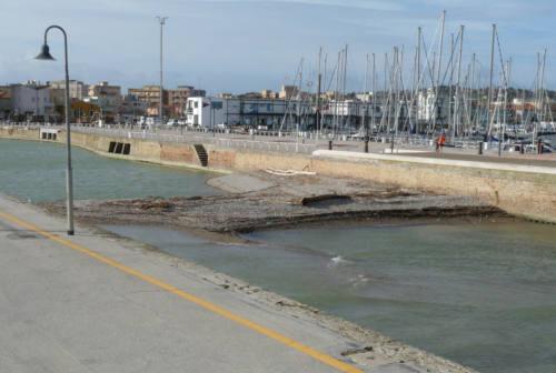 Escavo del fiume e allungamento del molo: stop dalla Lega