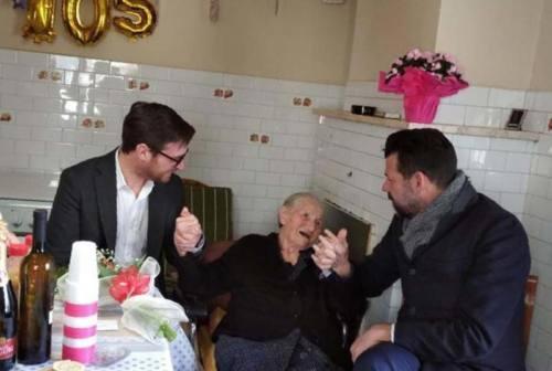 Brugnetto, compie 105 anni nonna Ida