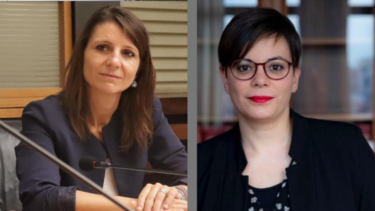 Romina Pergolesi e Patrizia Terzoni (Movimento 5 Stelle)