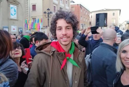 Sardine, Mattia Santori nelle Marche. Mattiuzzo: «Presto di nuovo nelle piazze»