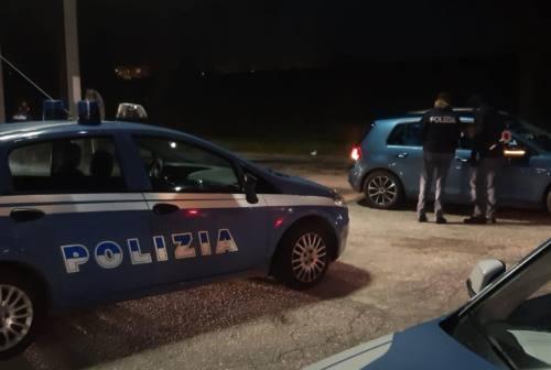 Senigallia, bus navetta irregolare fermato dalla polizia