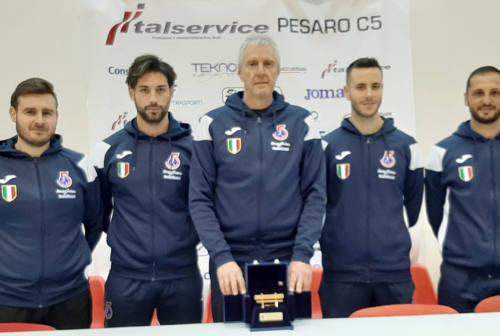 Colini è mister panchina d'oro: «Premio da condividere con tutto l'ambiente Pesaro»