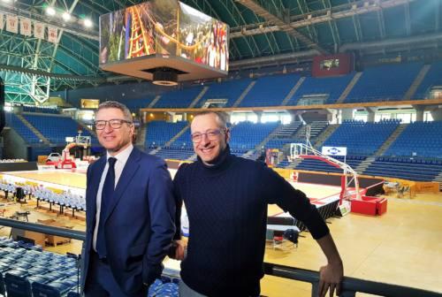 Pesaro, 49 telecamere per la sicurezza della Vitrifrigo Arena