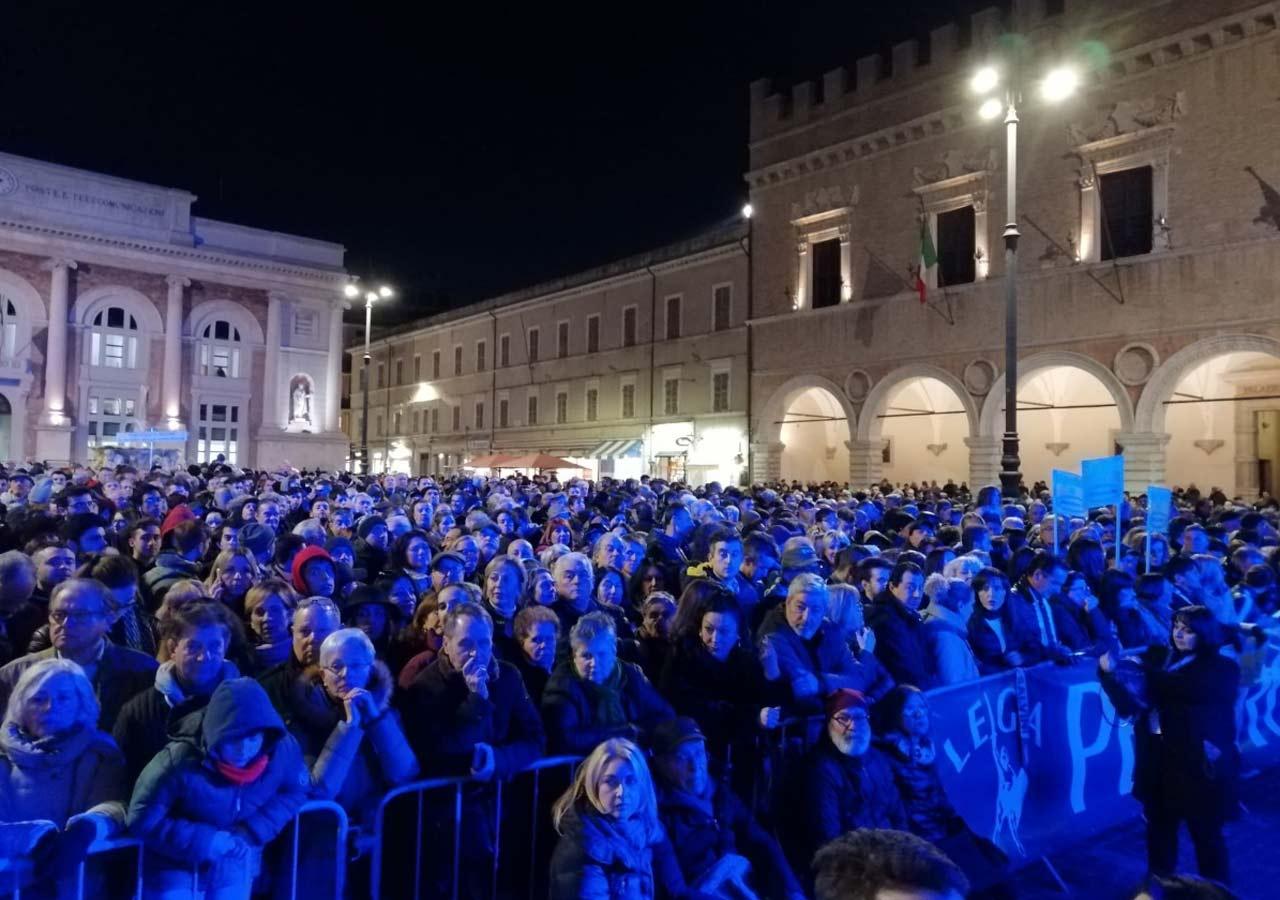 Salvini a Pesaro
