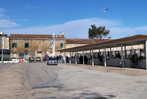 Senigallia: piazzale Bixio, vendute le casette dei pescatori
