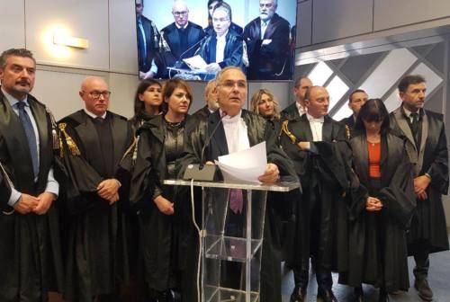 Inchiesta di Perugia, Avvocatura di Ancona: «Pienamente solidale con la magistratura»