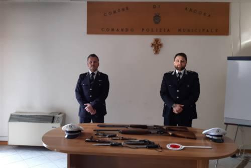 Ancona, sequestrate armi rubate, trovate vicino al cimitero del Pinocchio