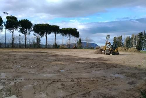 Loreto: pattini, skate, camminate. Al via il restyling del campo Montereale